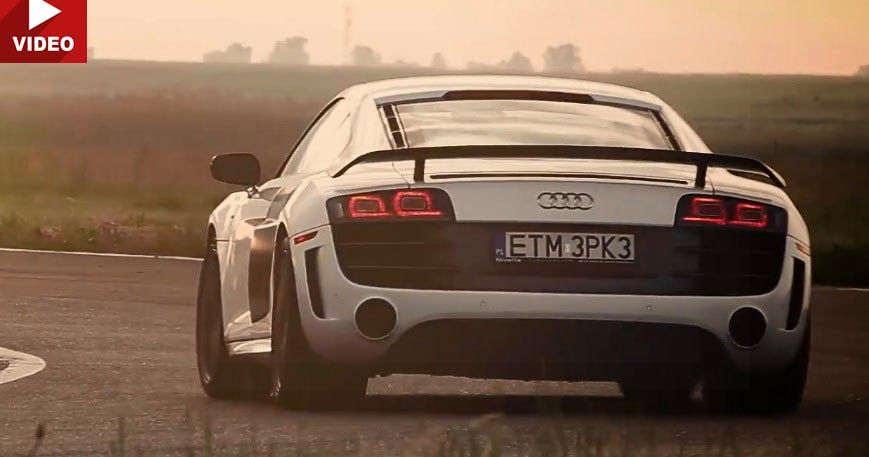 Audi R8 V10 Gt With Sports Exhaust Might Be The Best Thing You Ll Hear All Day Carscoops Audi R8 V10 Audi R8 Cool Sports Cars