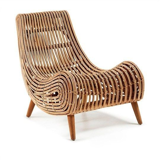 SHINAID SOLID CANE RATTAN LOUNGE CHAIR / ACCENT CHAIR / ARMCHAIR | EBay