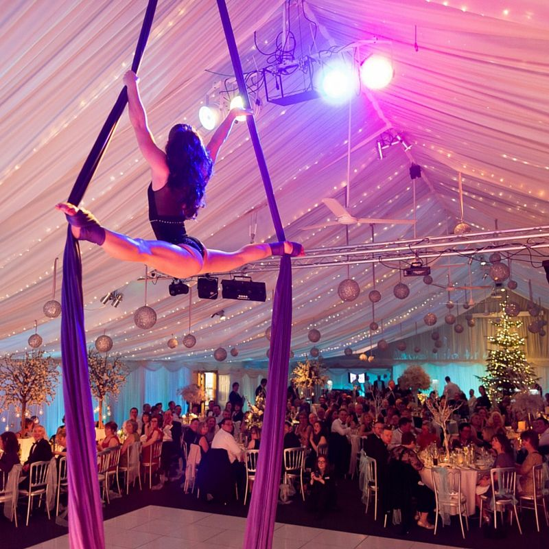 Heaton House Farm Christmas Ball Shane Webber Photography Party