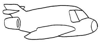 Easy Plane Coloring Page Airplane Coloring Pages Easy Coloring Pages Coloring Pictures