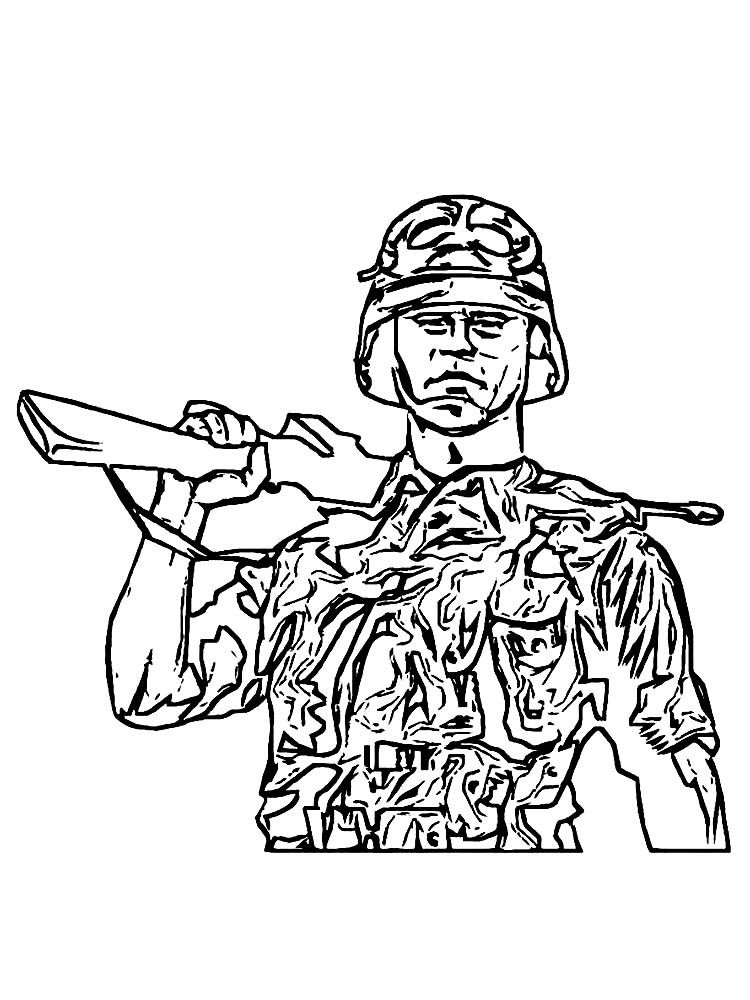Army Coloring Pages Soldier Free The Following Is Our Collection Of Tough Soldiers Coloring Page You Are Free To D Coloring Pages Cool Coloring Pages Soldier