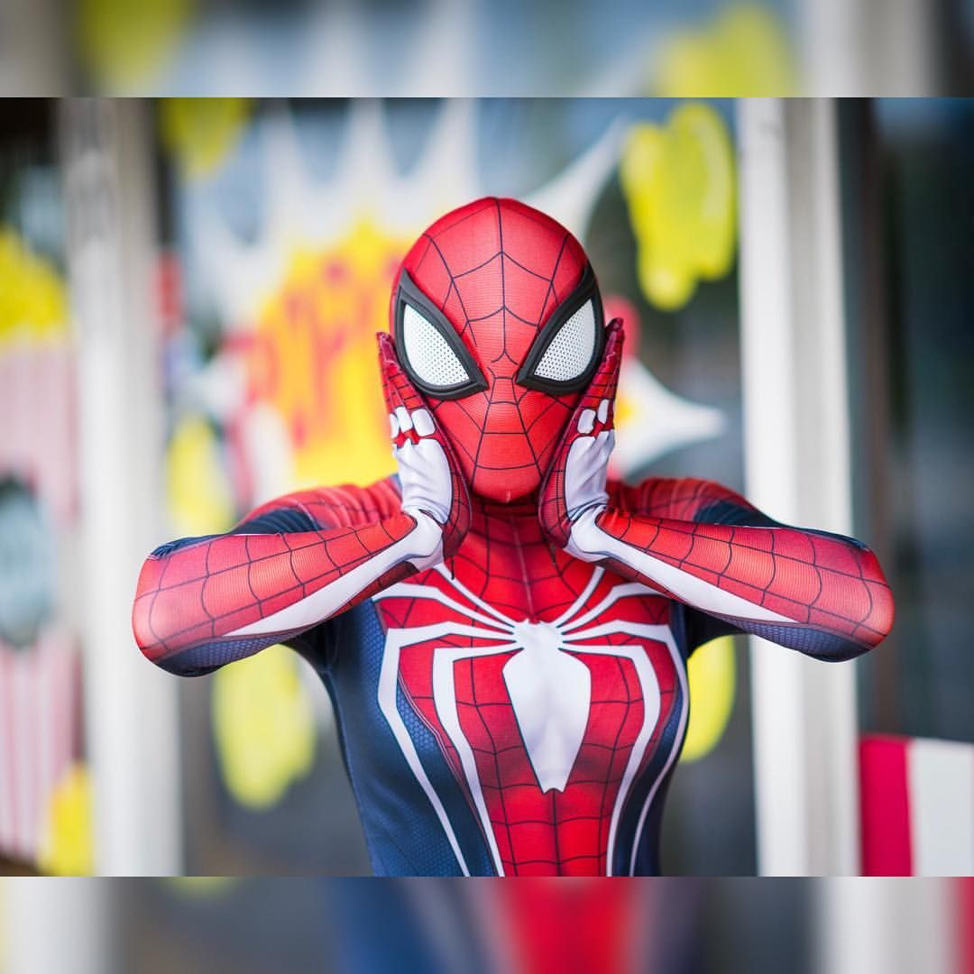 Insomniac Games Spider Man Ps4 Cosplay By Vixie Cosplay Spiderman Spidermanps4 Insomniacgames Marvel Cosplay Spider Spider Girl Marvel Cosplay Spiderman