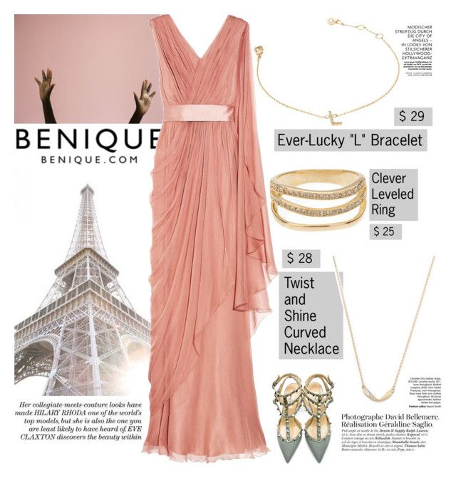 """Going faster than a million miles an hour Trying to catch my breath some way, somehow"" by hibaofficiel ❤ liked on Polyvore featuring Alberta Ferretti and Valentino"