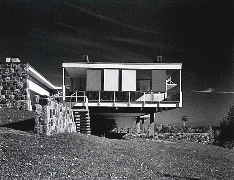 Marcel Breuer Starkey House Duluth Minnesota 1954 55