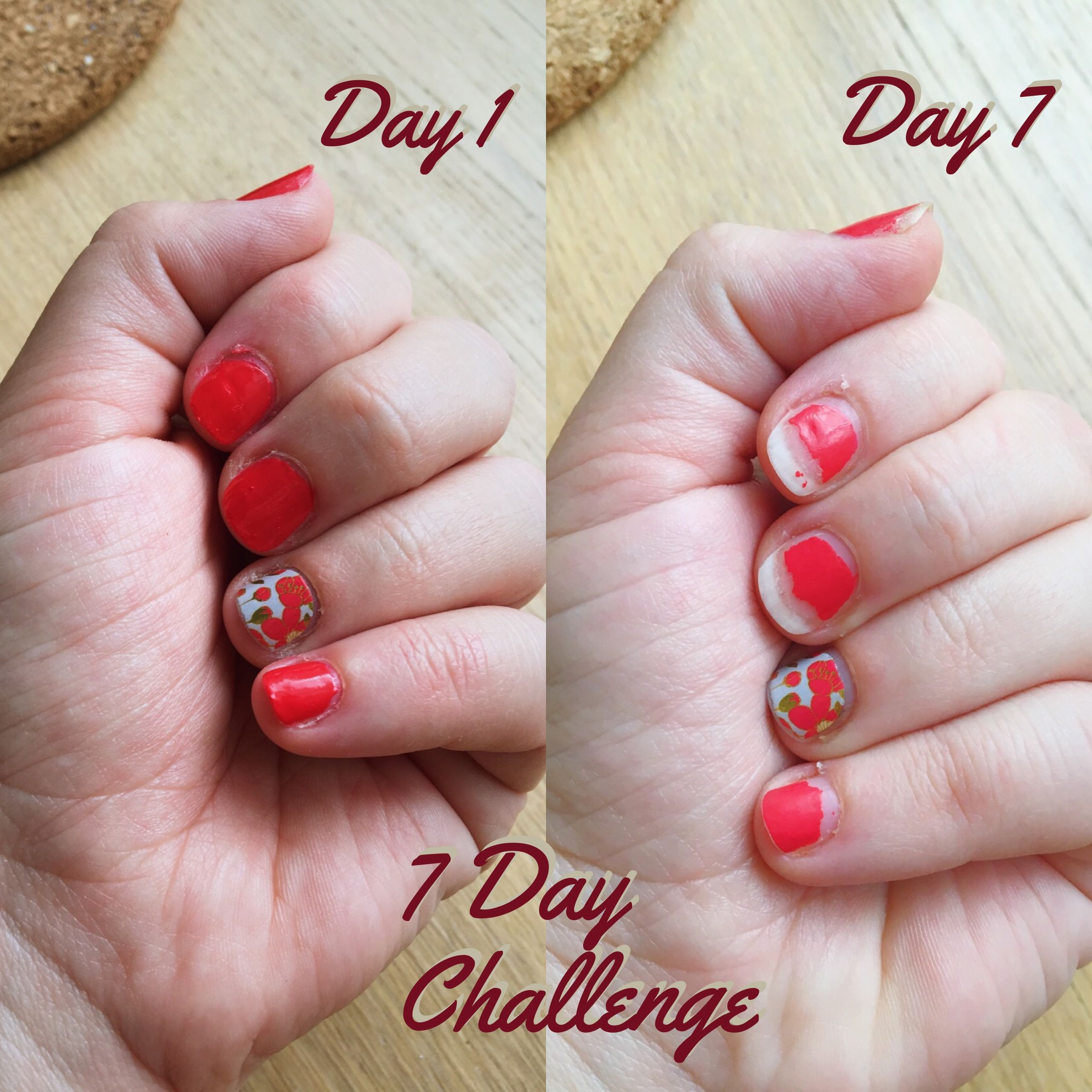 The 7 Day Manicure Challenge--OPI Nail Lacquer vs. Jamberry Nail ...