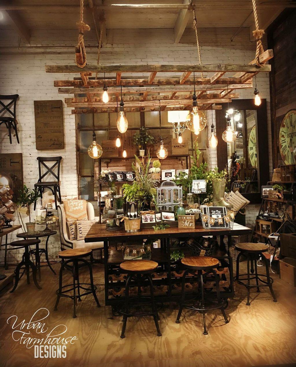 Urban Farmhouse Designs, Urban Farmhouse Dining Room Light