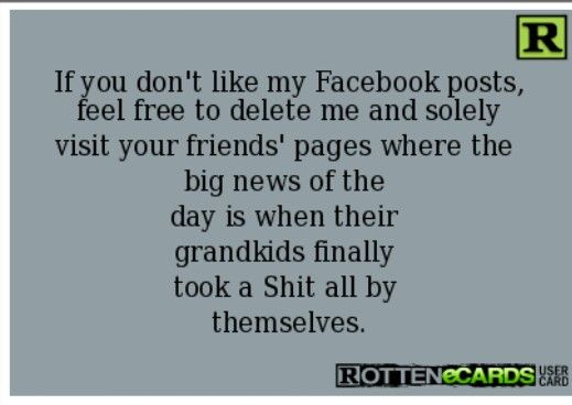 If you don't like my Facebook posts       Quotes I like