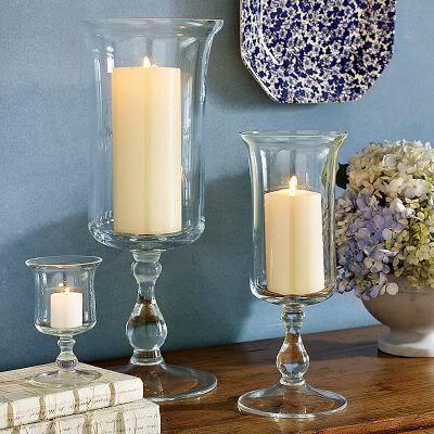 Hurricane Vases Frugal Diy Tutorial Craft Ideas Pinterest