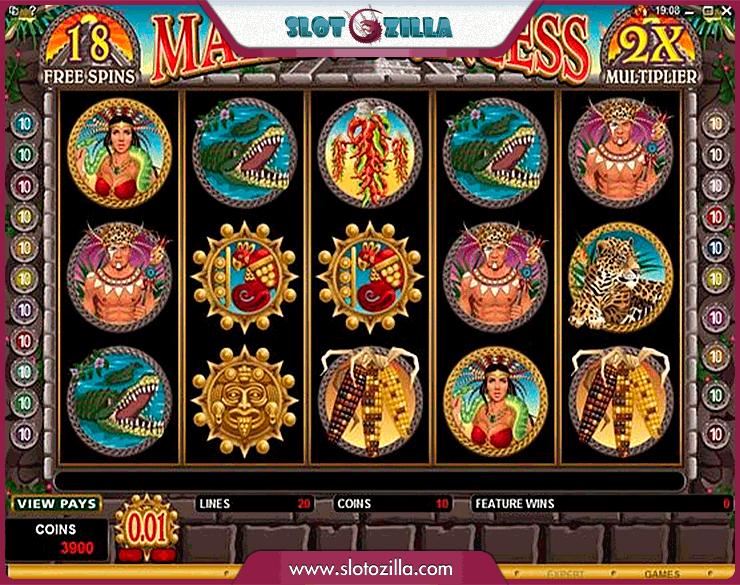 Mayan Princess Slot Machine