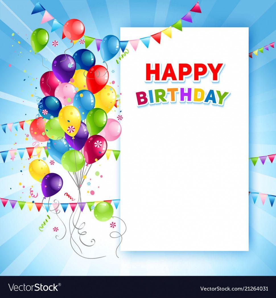 Birthday Card Template Free