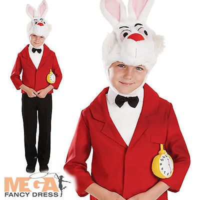 Mister rabbit boys alice in #wonderland kids #fairytale world book day #costume ,  View more on the LINK: http://www.zeppy.io/product/gb/2/361488240835/