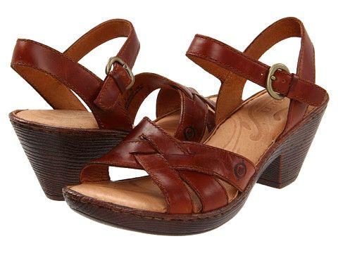 aa5eefa5a3 Born Belinda Sandal Bag Pipe (Rust) Full Grain Leather - 6pm.com ...