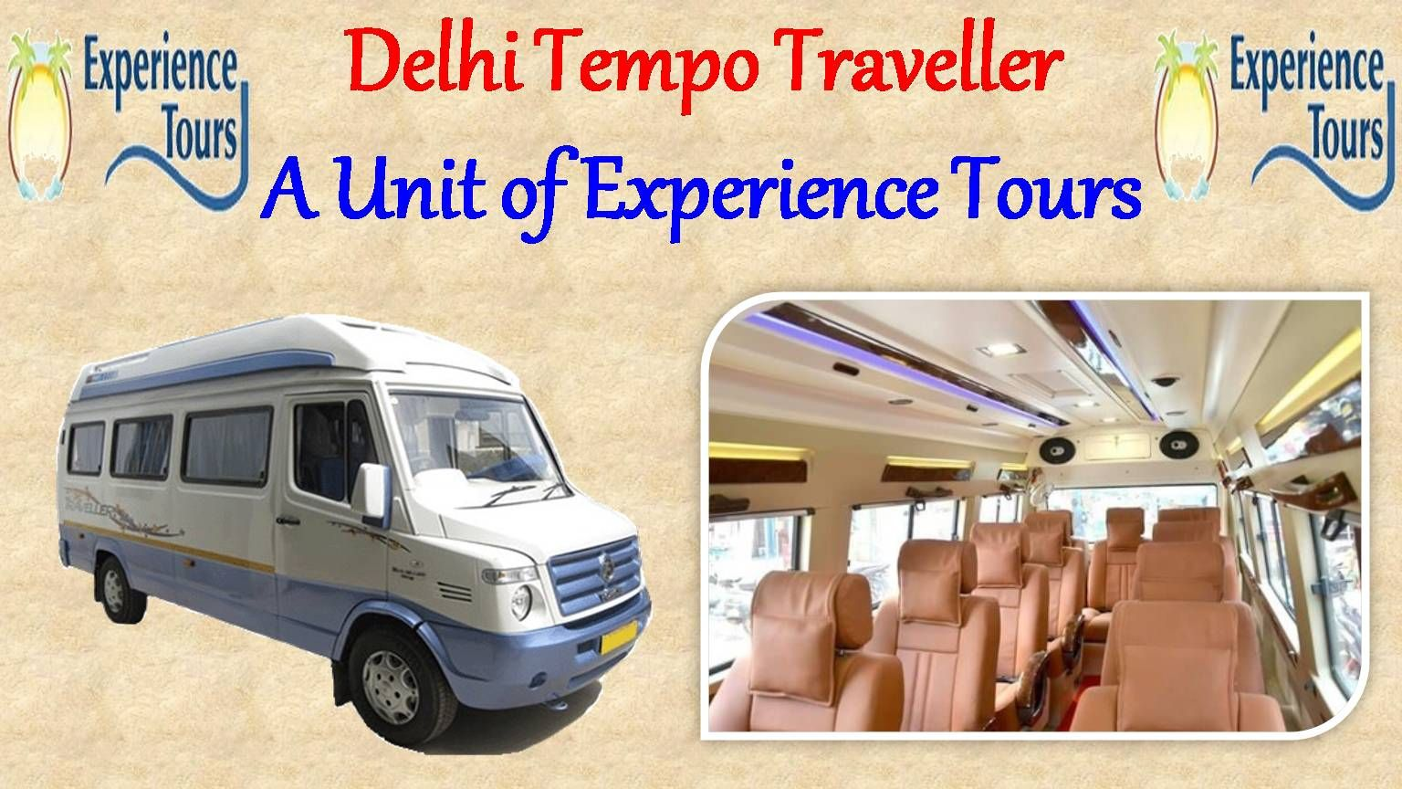 Tempo Traveller On Rent With Images Traveling By Yourself