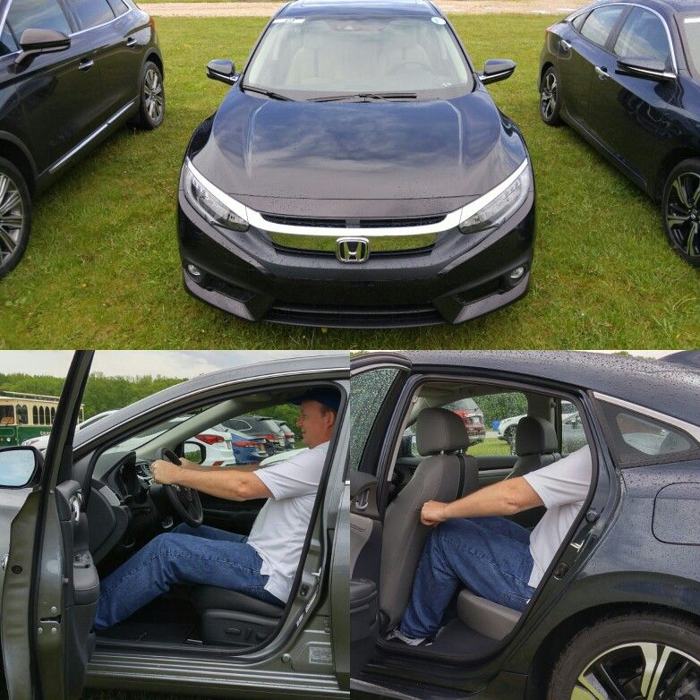 2016 Honda Civic Sedan in Touring trim. Strong contender