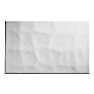 Bumpy Wall Tiles - White - 25 x 40cm - 10 Pack from Homebase.co.uk