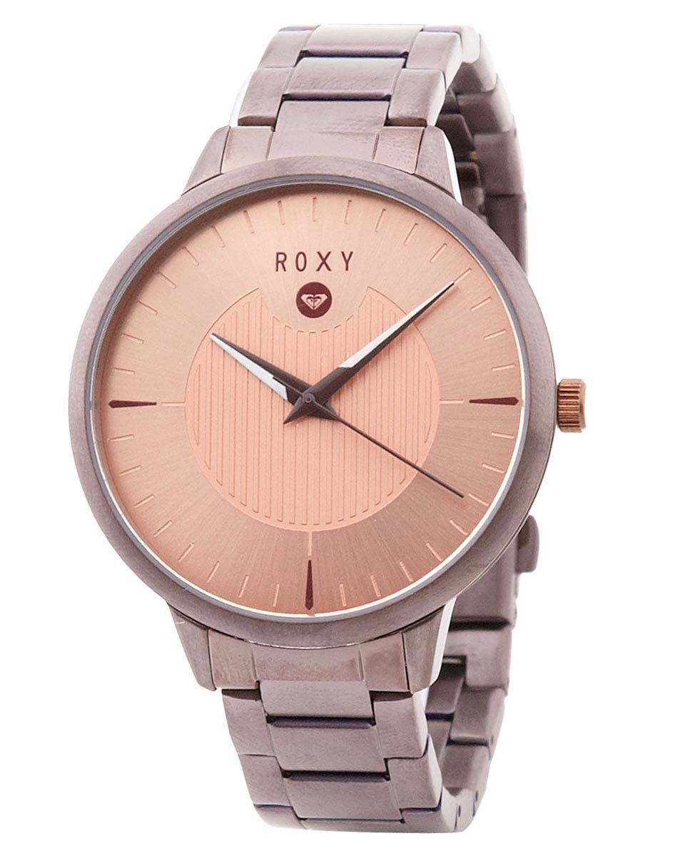 3a4bb5274fa ROXY™ Ladies Avenue Metal Watch Roxy