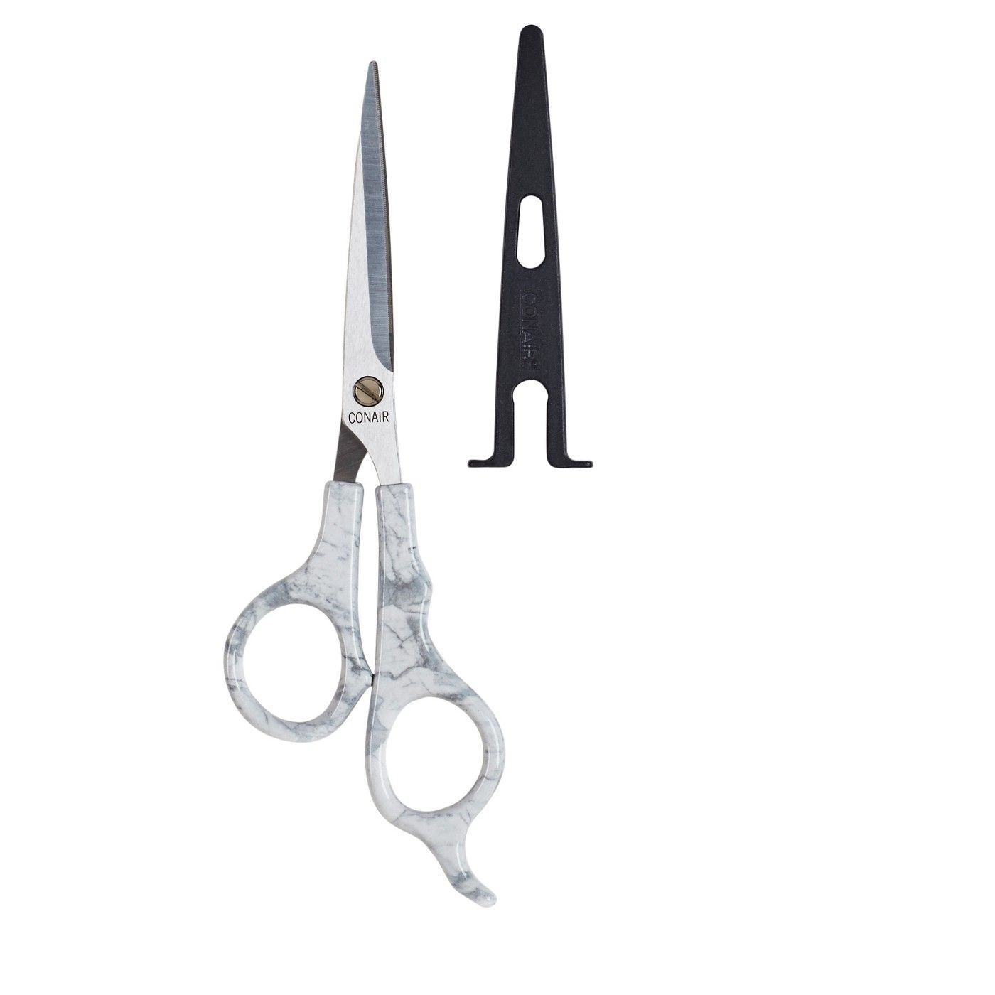 Conair Cararra Marble Shears with Safety Blade Cover - 11212 112/12
