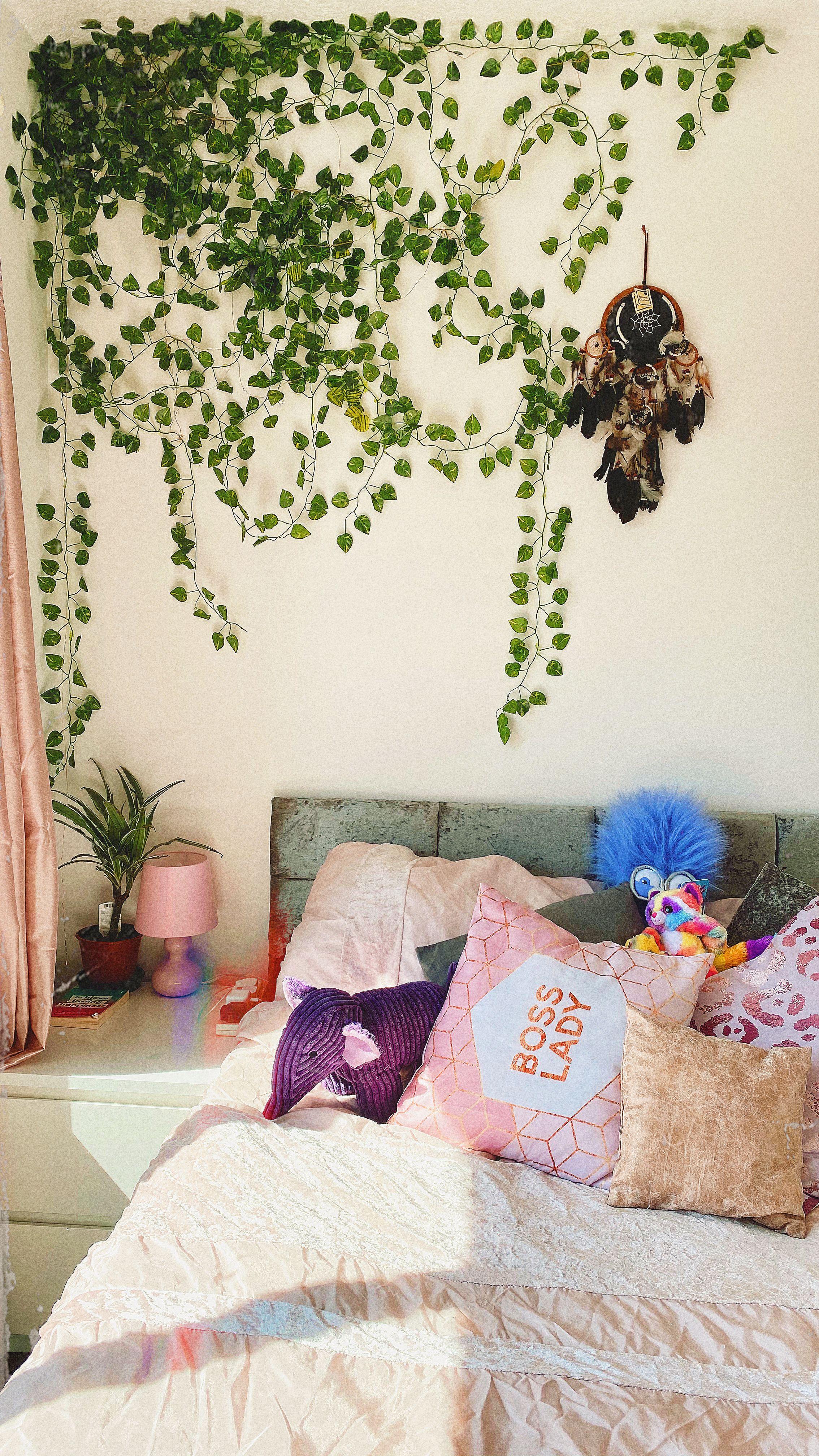 Ivy Wall Room Inspiration Bedroom Room Ideas Bedroom Room Decor