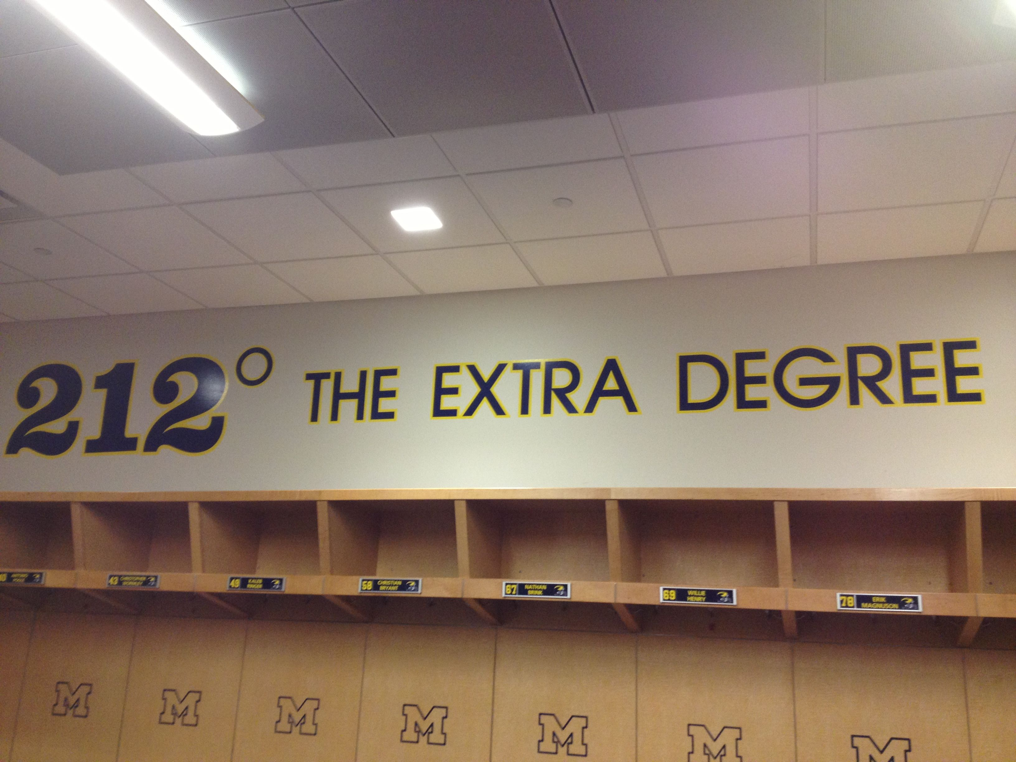 212 The Extra Degree One Of The Many Quotes Taken From Inside The