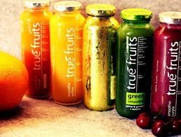 True-Fruits-Testbuddies-Test-Smoothie-Flaschen-Früchte