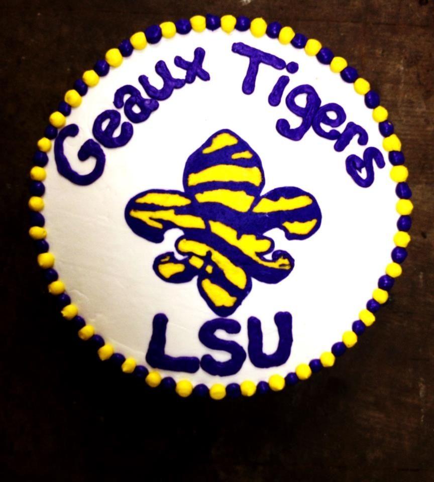LSU Tigers Game Day Cake Bake Your Day, LLC - Alexandria, LA www.facebook.com/bakeyourdayllc (318) 229-0299 bakeyourdayllc@hotmail.com