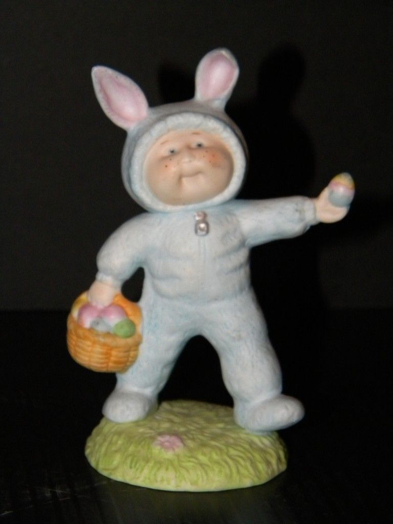 Cabbage Patch Figurine Our Easter Bunny 1985 Edition Easter Toys Easter Bunny Cabbage Patch Kids