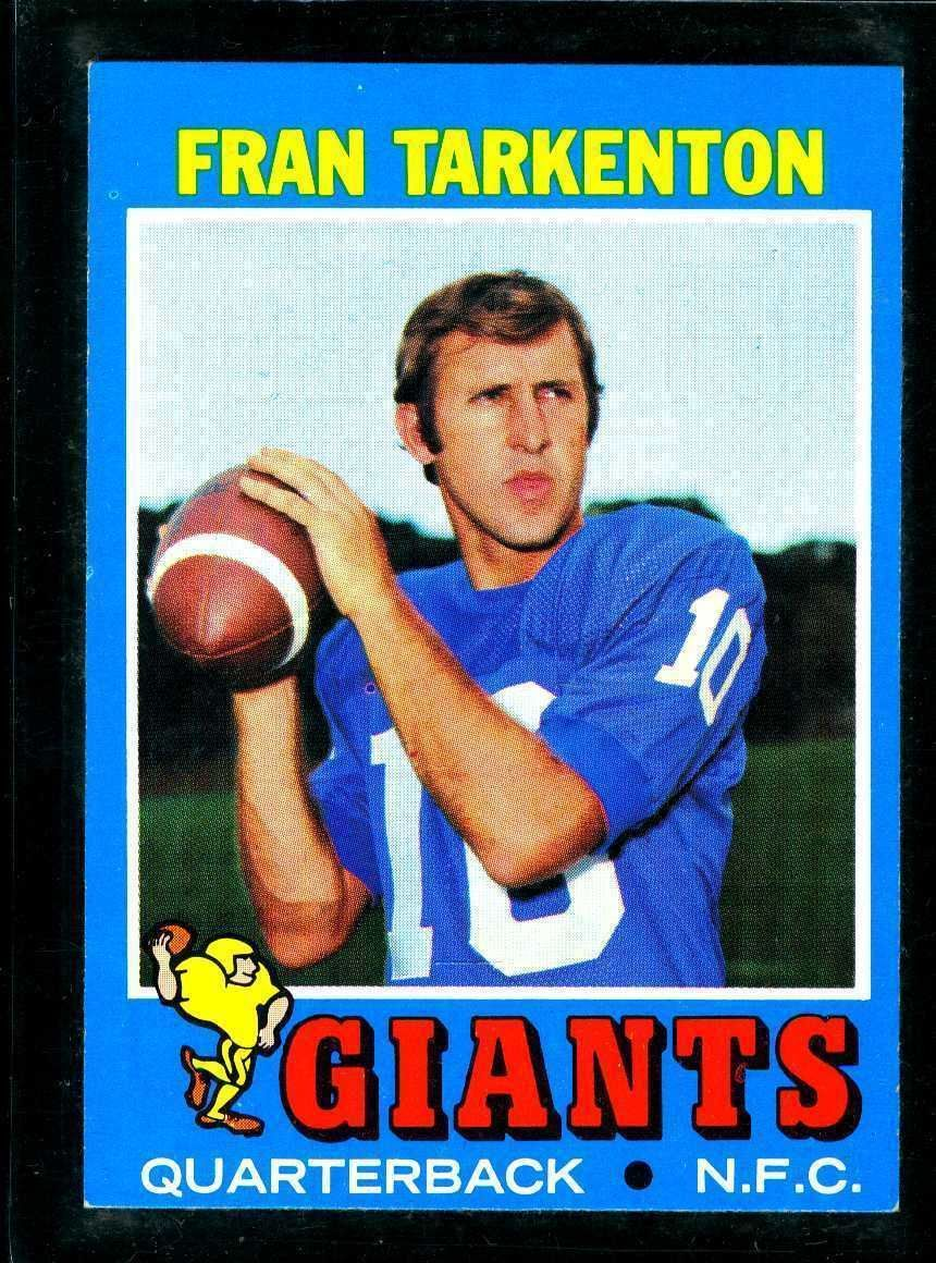 1971 topps football cards giant card sports cards