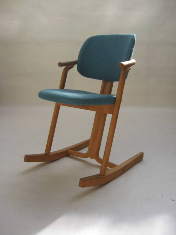 Rocking chair by Peter Moizi