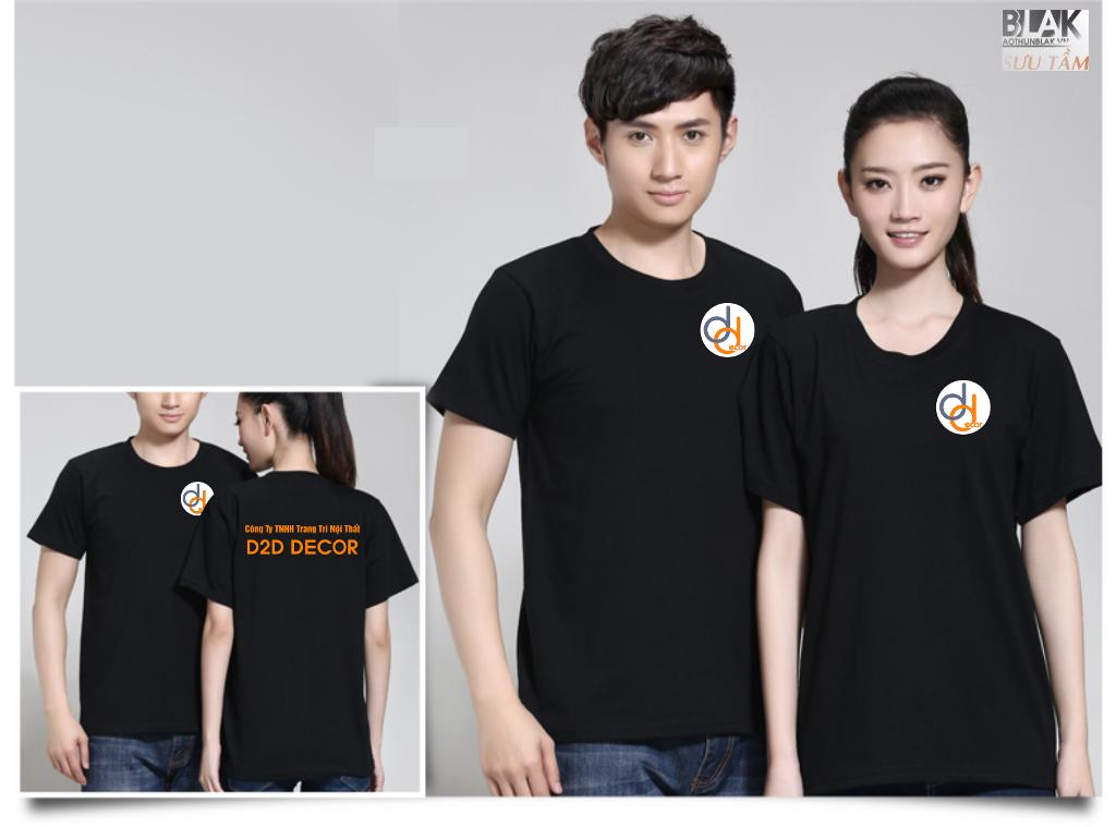 Mẫu áo thun đồng phục công ty Trang trí Nội Thất DTD DECOR - Hình 1