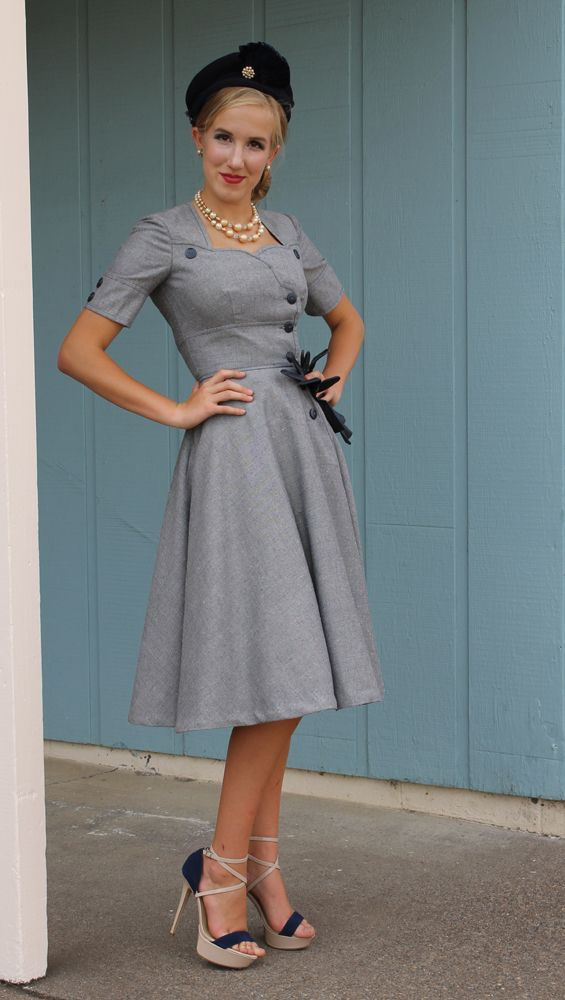 Womens Sewing Patterns | Sew Chic LN1517 London Dress Pattern