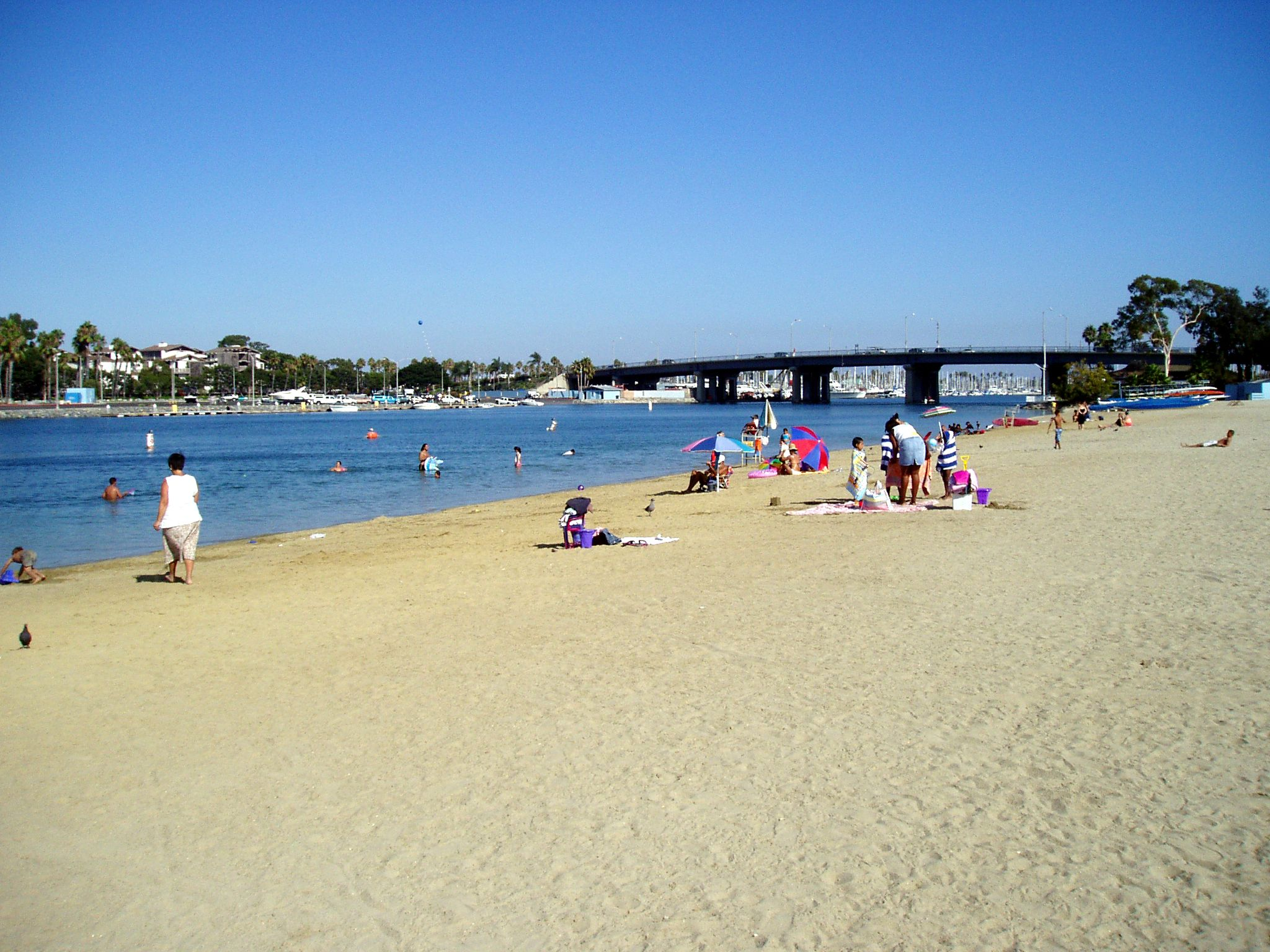 Mothers Beach in Long Beach Picnics and swimming so fun