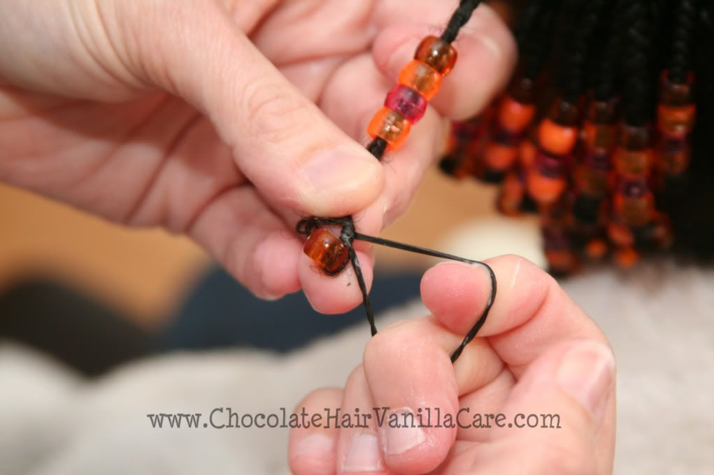 Chocolate hair vanilla care how to put beads in hair little chocolate hair vanilla care how to put beads in hair ccuart Gallery