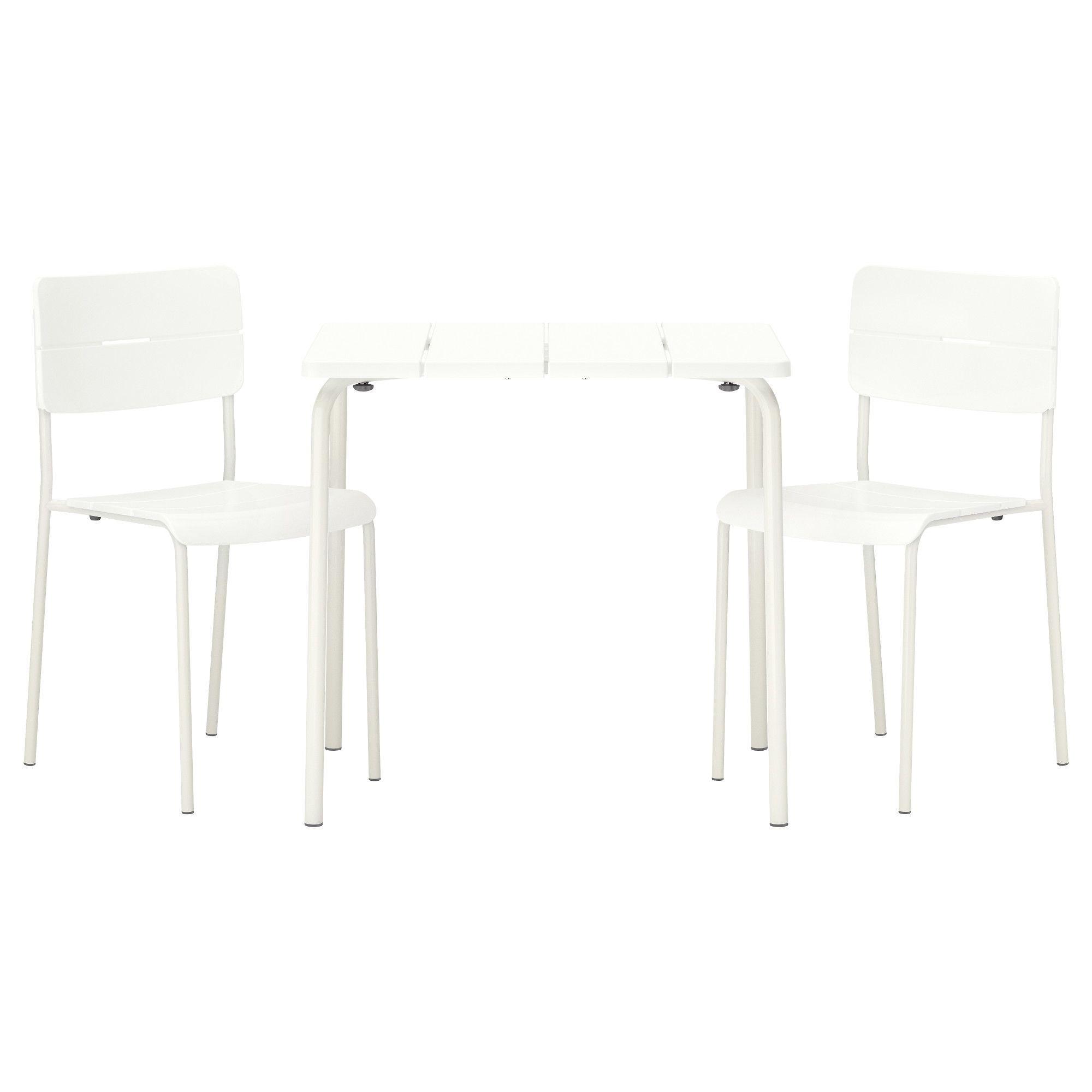 VÄDDÖ, Tisch+2 Stühle/außen, weiß Jetzt bestellen unter: https ...