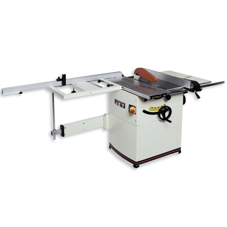 Jet table panel saw w sliding table 10 2600w 130kg 230v for 10 jet table saw
