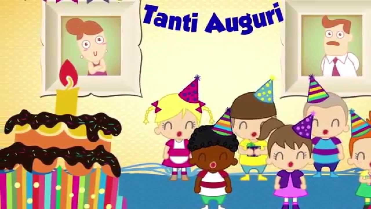 Buon Compleanno Tanti Auguri A Te Canzoni Per Bambini E