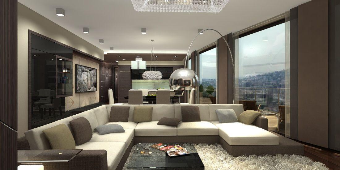 5 MODERN MINIMÁL LUXUS LAKÁS - NAPPALI DESIGN Interior - esszimmer modern luxus