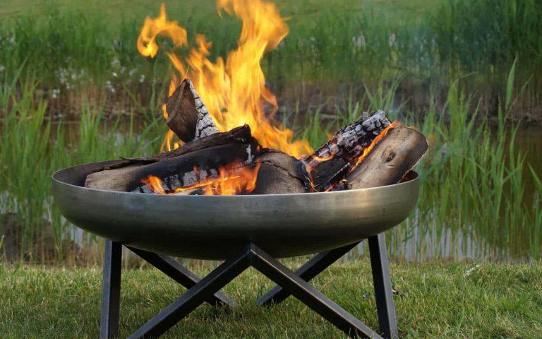 Feuerschalen Korbe Aus Edelstahl Gusseisen Co Fur Den Garten