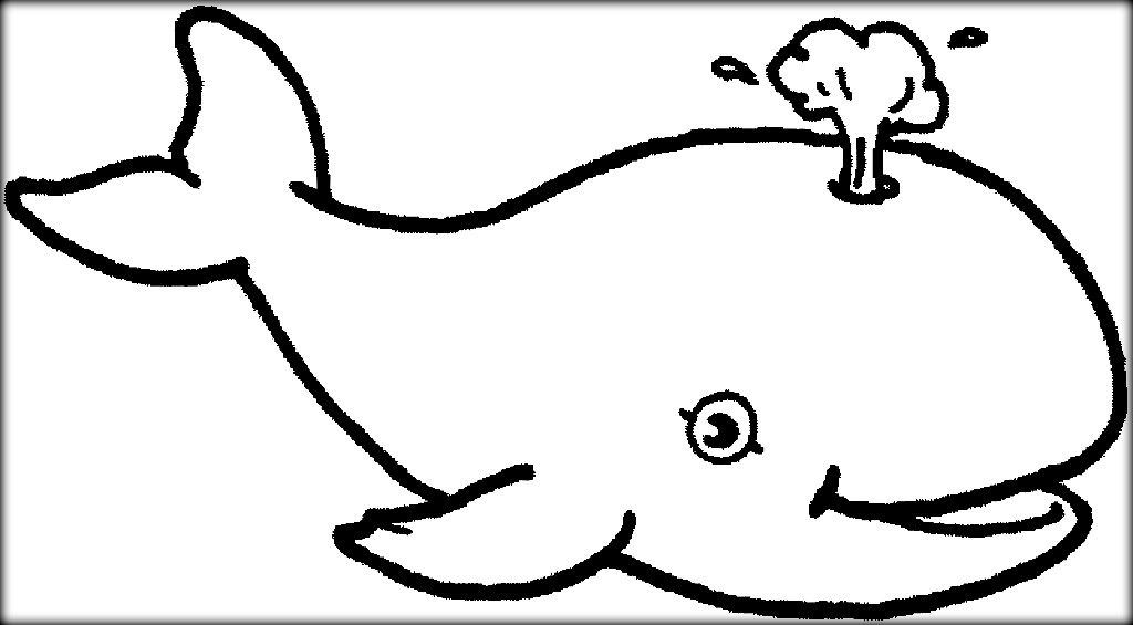 Underwater Ocean Animals Coloring Pages For Preschool