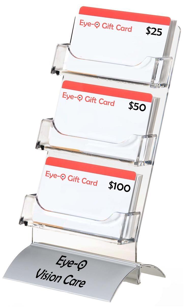 Pin By Yns On Display Display Cards Business Card Displays Custom Logos