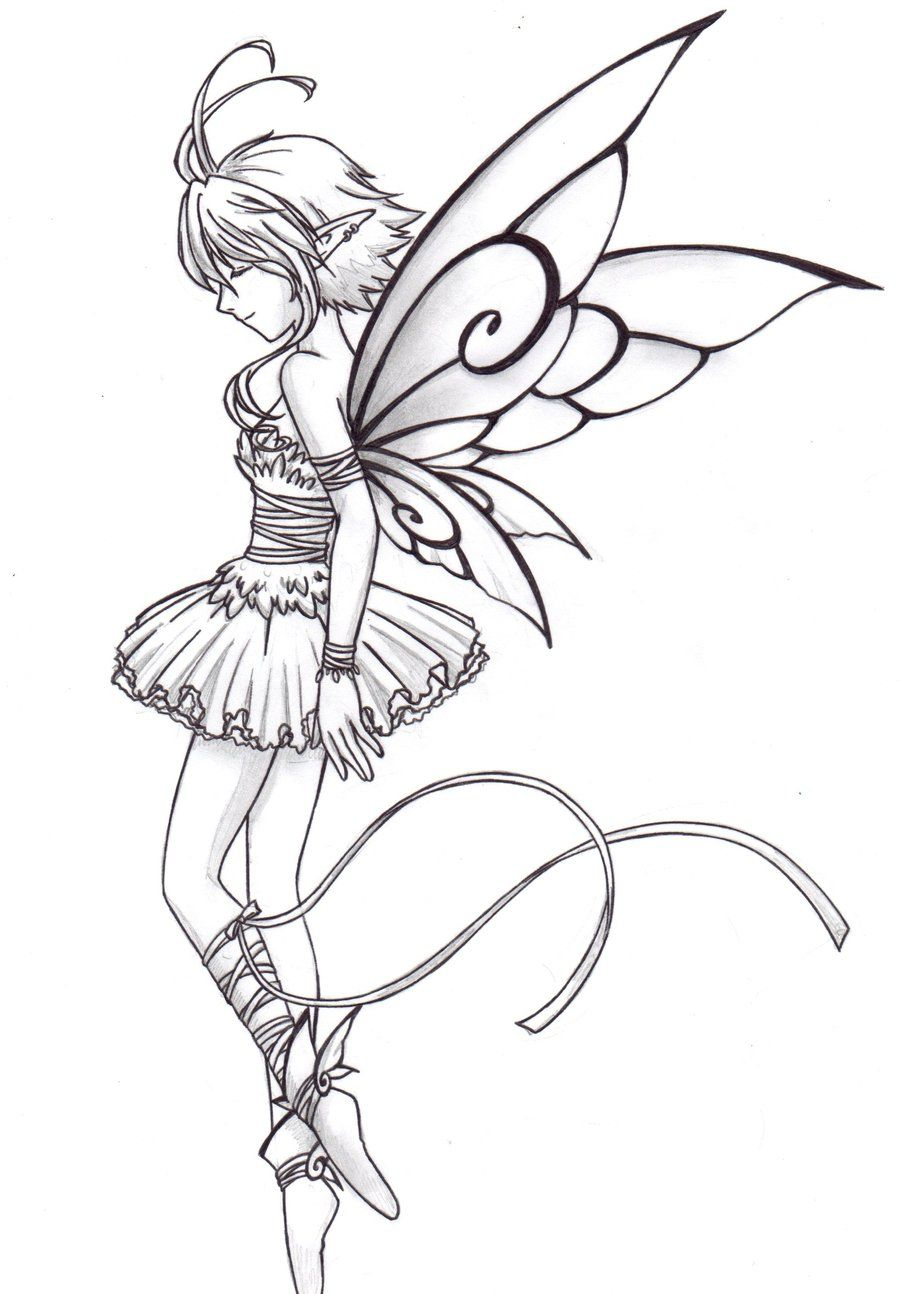 Fairy ballet dancer by Chronos89