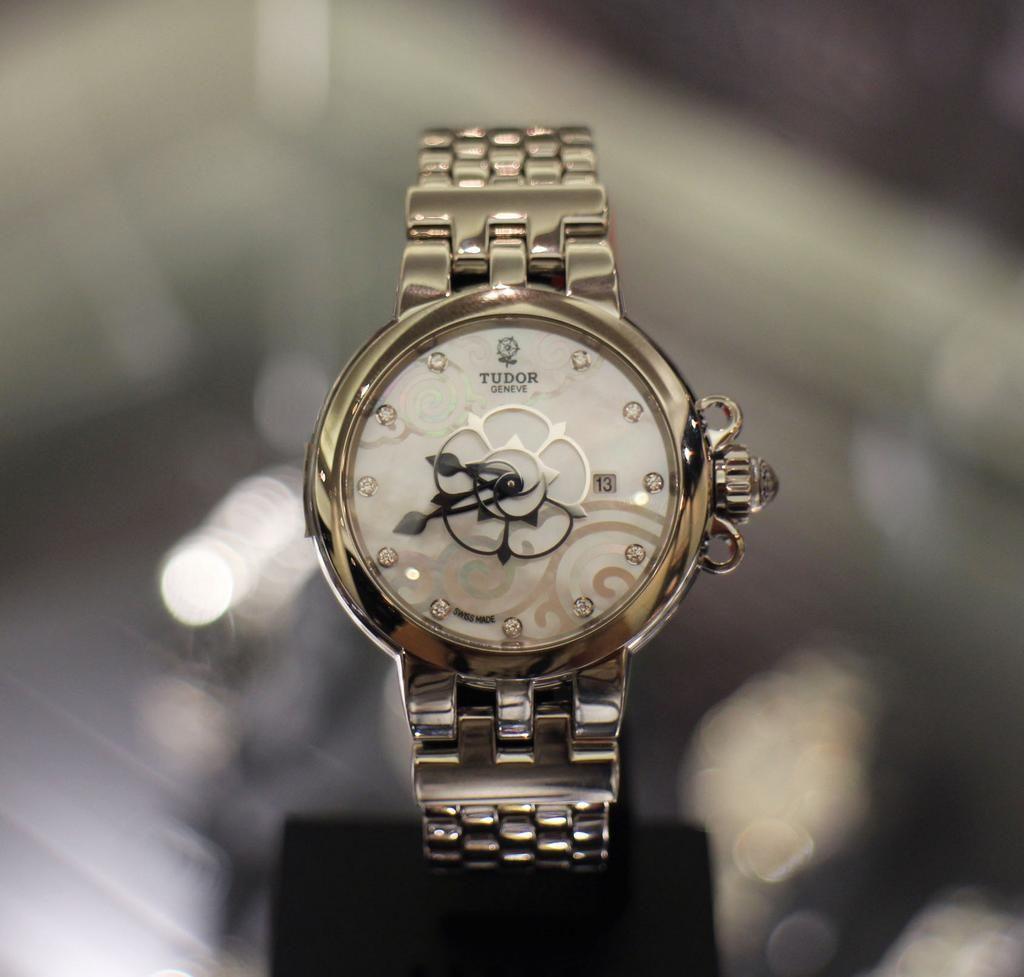 Tudor Rose watch from Harrods.