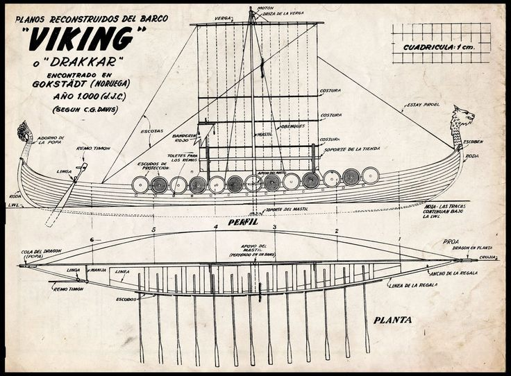 Images For  U0026gt  Viking Longship Diagram