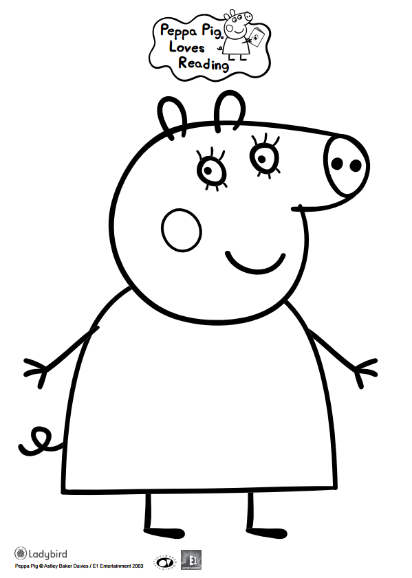 Pin by sarah reveles on peppa pig pinterest top 15 peppa pig coloring pages for your little ones maxwellsz