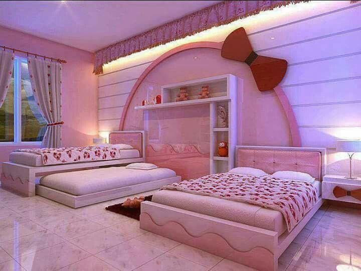 الوان دهانات ألوان غرف نوم بنات 2020