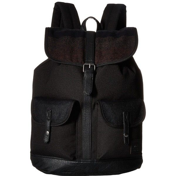 d491835cee Vans Lean In Backpack (Black Multi) Backpack Bags ( 59) ❤ liked on Polyvore  featuring bags