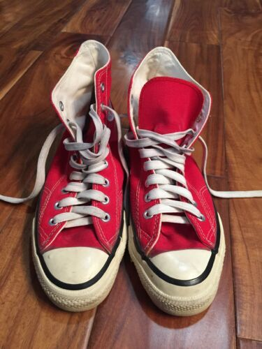5c64f355201f Details about VINTAGE MADE IN USA CONVERSE ALL STAR CHUCK TAYLOR ...