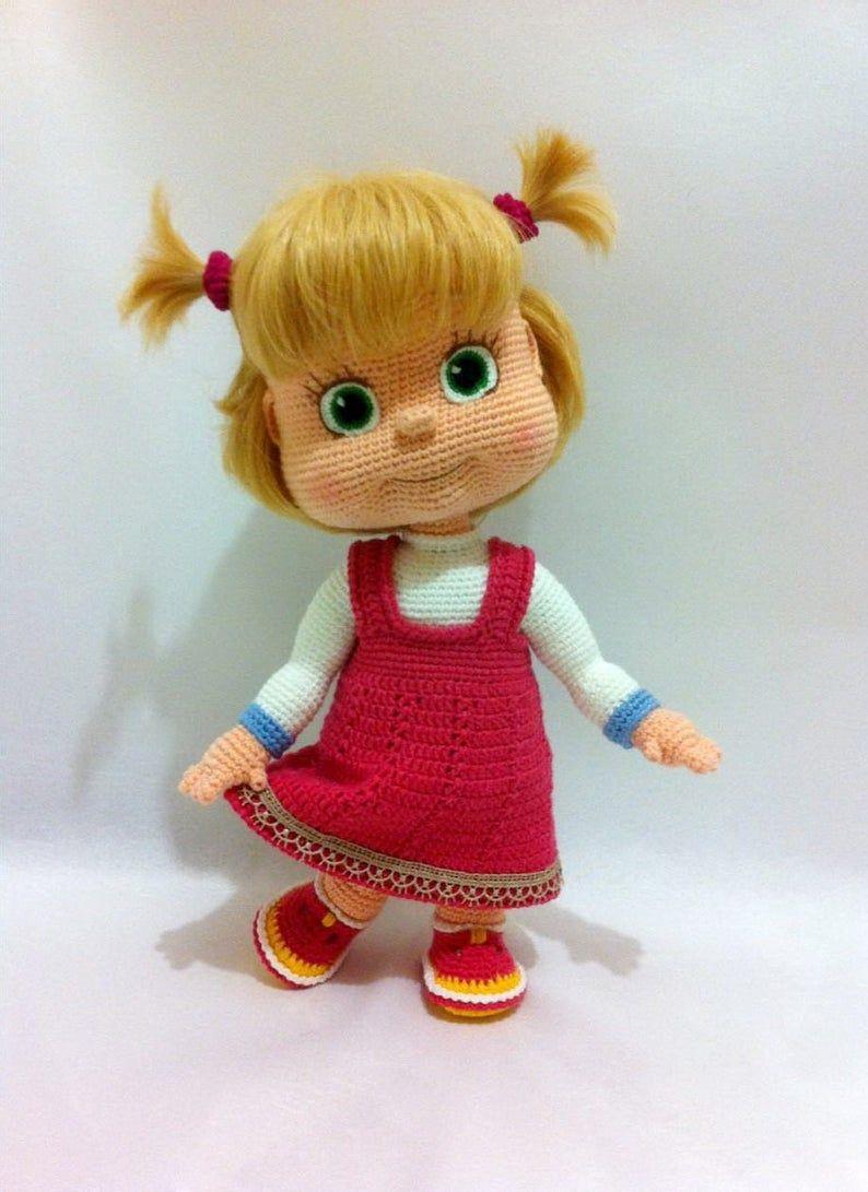 Set For Crocheting Masha
