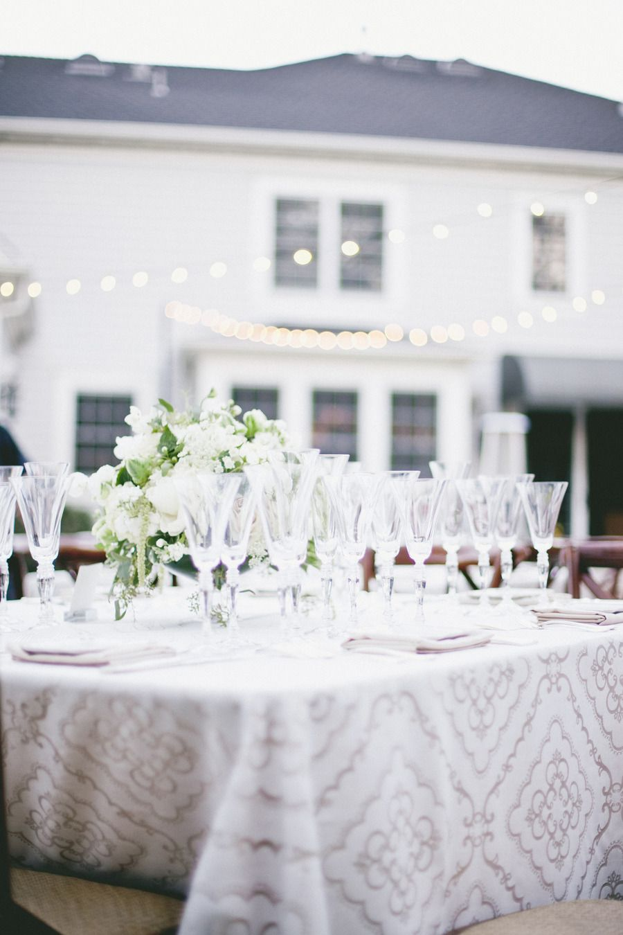 Classic Backyard Wedding from onelove photography | Garden, Back ...