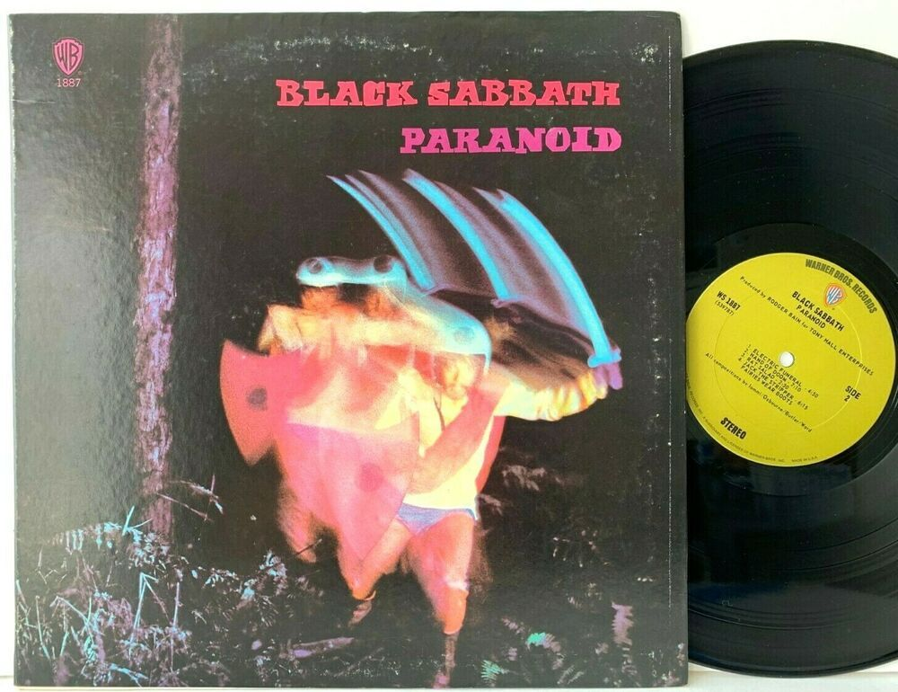 Black Sabbath Paranoid Warner Green Label Ws 1887 Lp Vinyl Record Album Capitolcollectibles Com Stores Ebay Co Vinyl Record Album Black Sabbath Vinyl Records