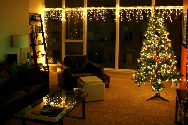 fresh christmas lights in living room images home design simple in throughout christmas lights in room - Decorating Living Room With Christmas Lights